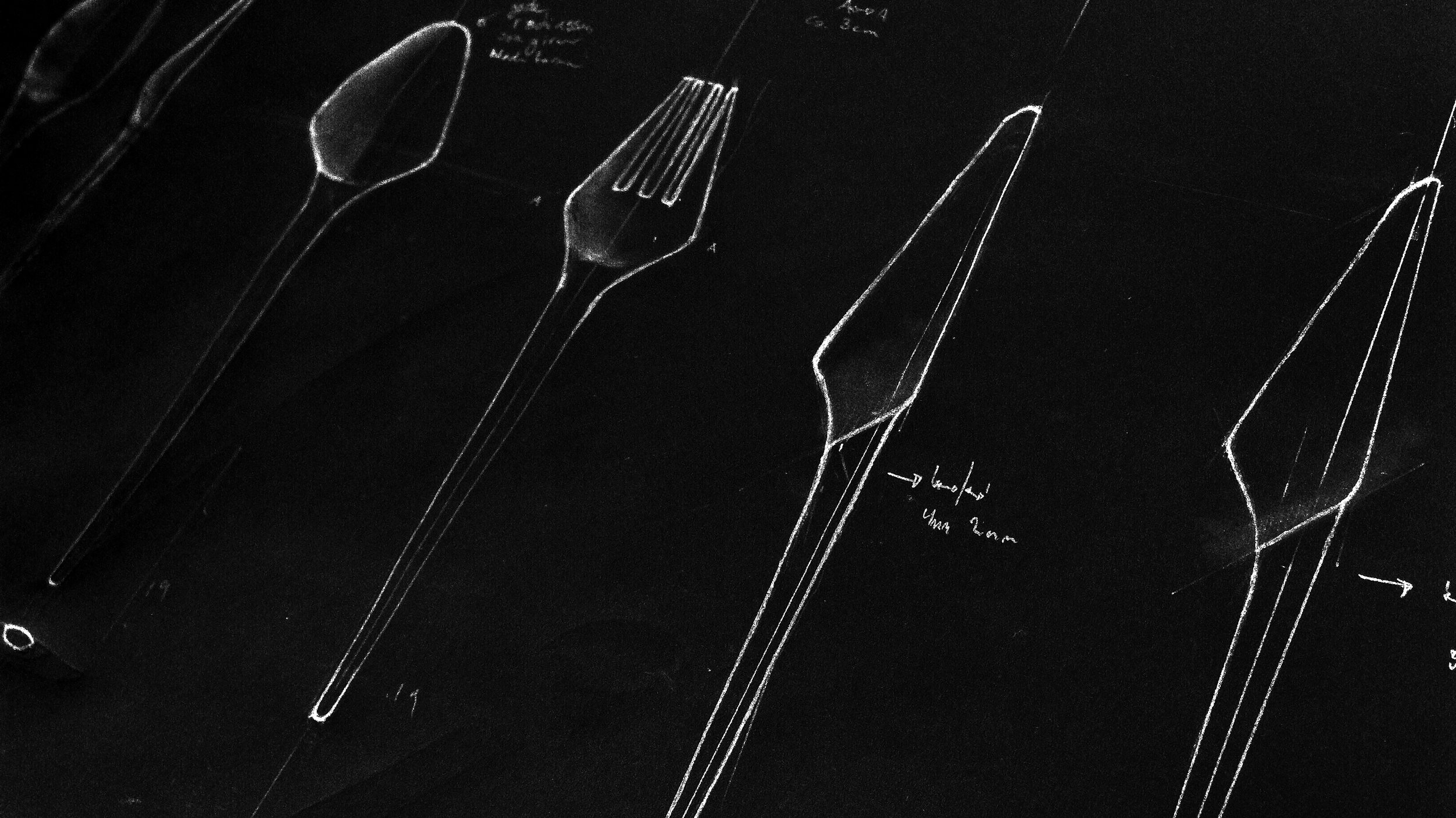 rouge - cutlery