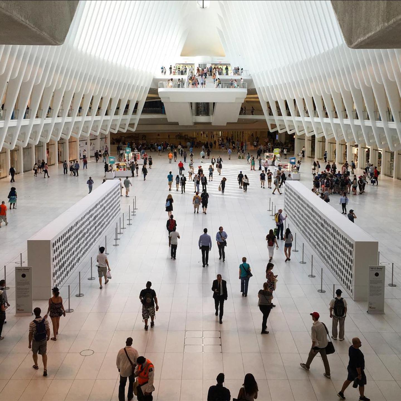 The Oculus @ Westfield World Center