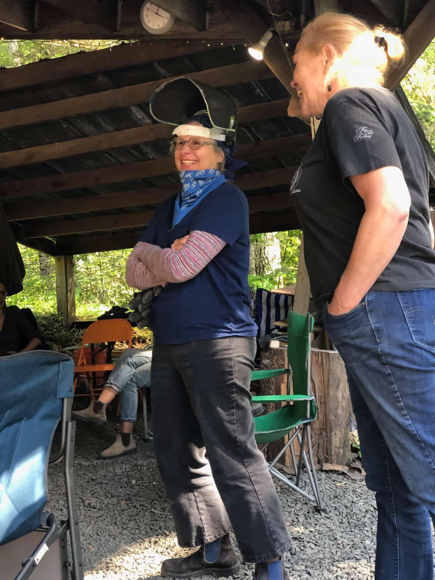 Firing While Female East Creek Anagama 2019 @lilithrockett and Christie Burris.jpg