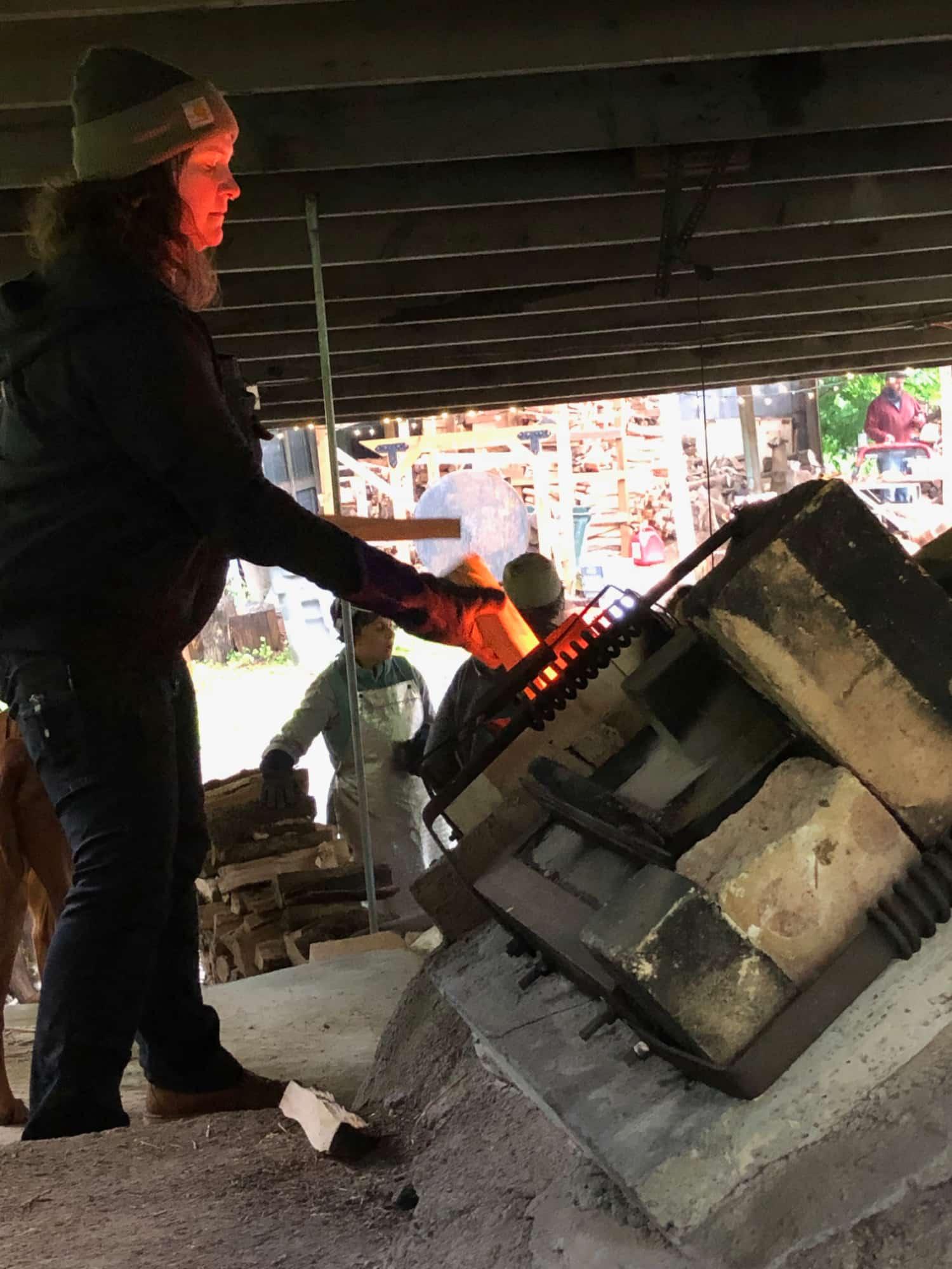 Firing While Female East Creek Anagama 2019 @eshceramics.jpg