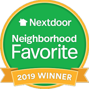 Hudson Plumbing has been voted a 2019 Nextdoor Neighborhood Favorite!