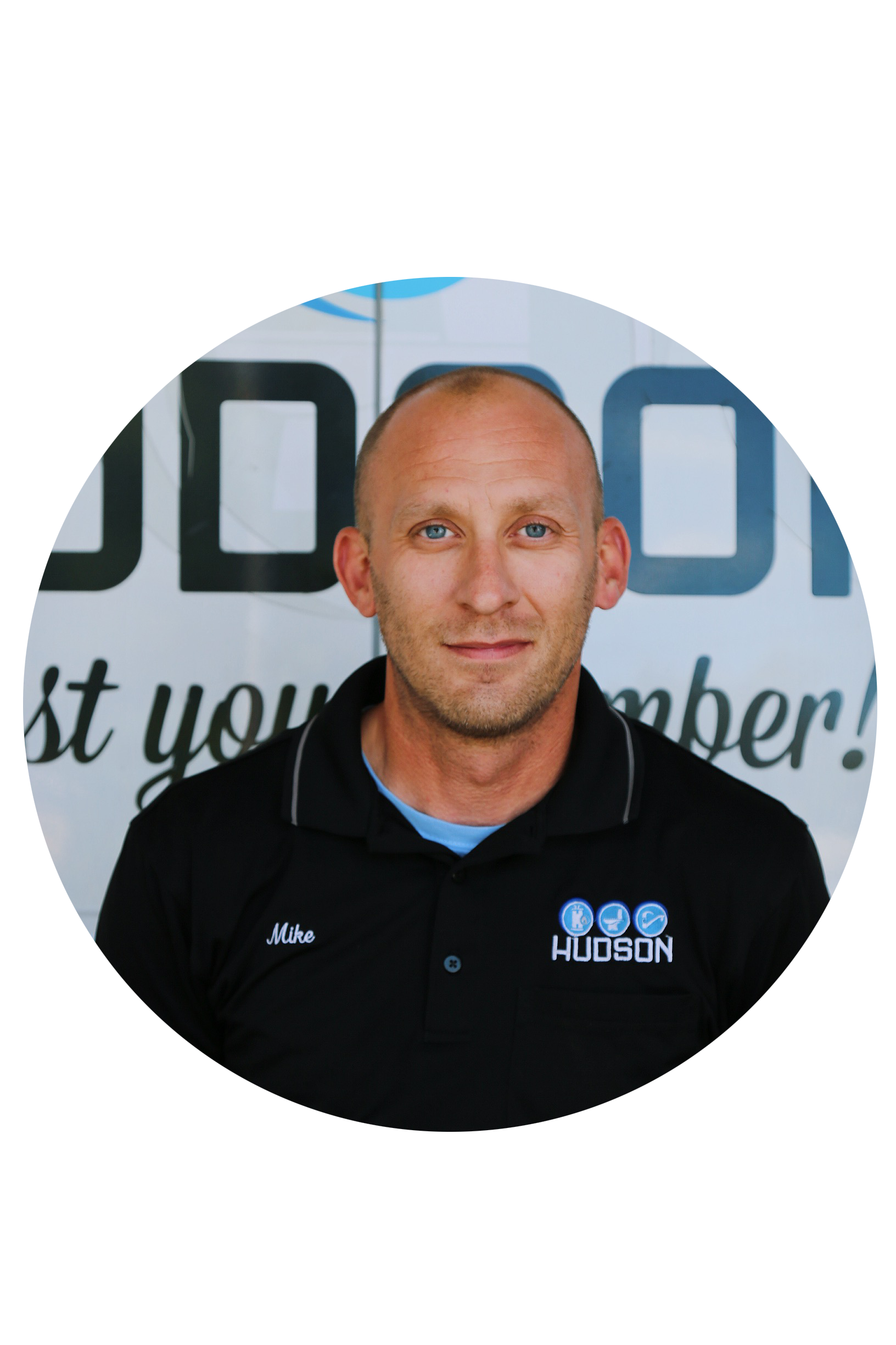 Mike Marlnee started with Hudson Plumbing in 2003 and is now the lead service manager.