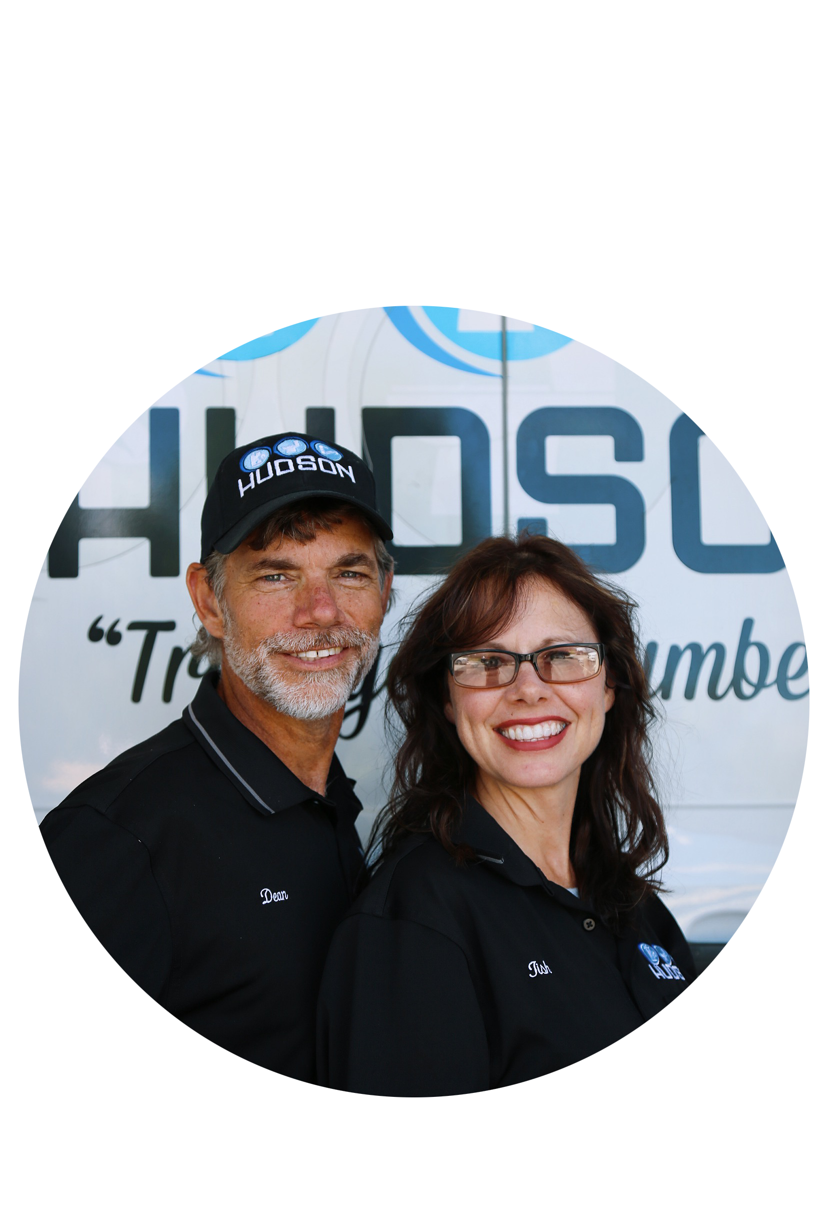 Dean Hudson and Tish Hudson started Hudson Plumbing in Morgan County in 1992.