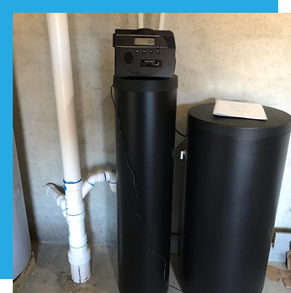 Hudson Plumbing offers the quickest water softener installation around!