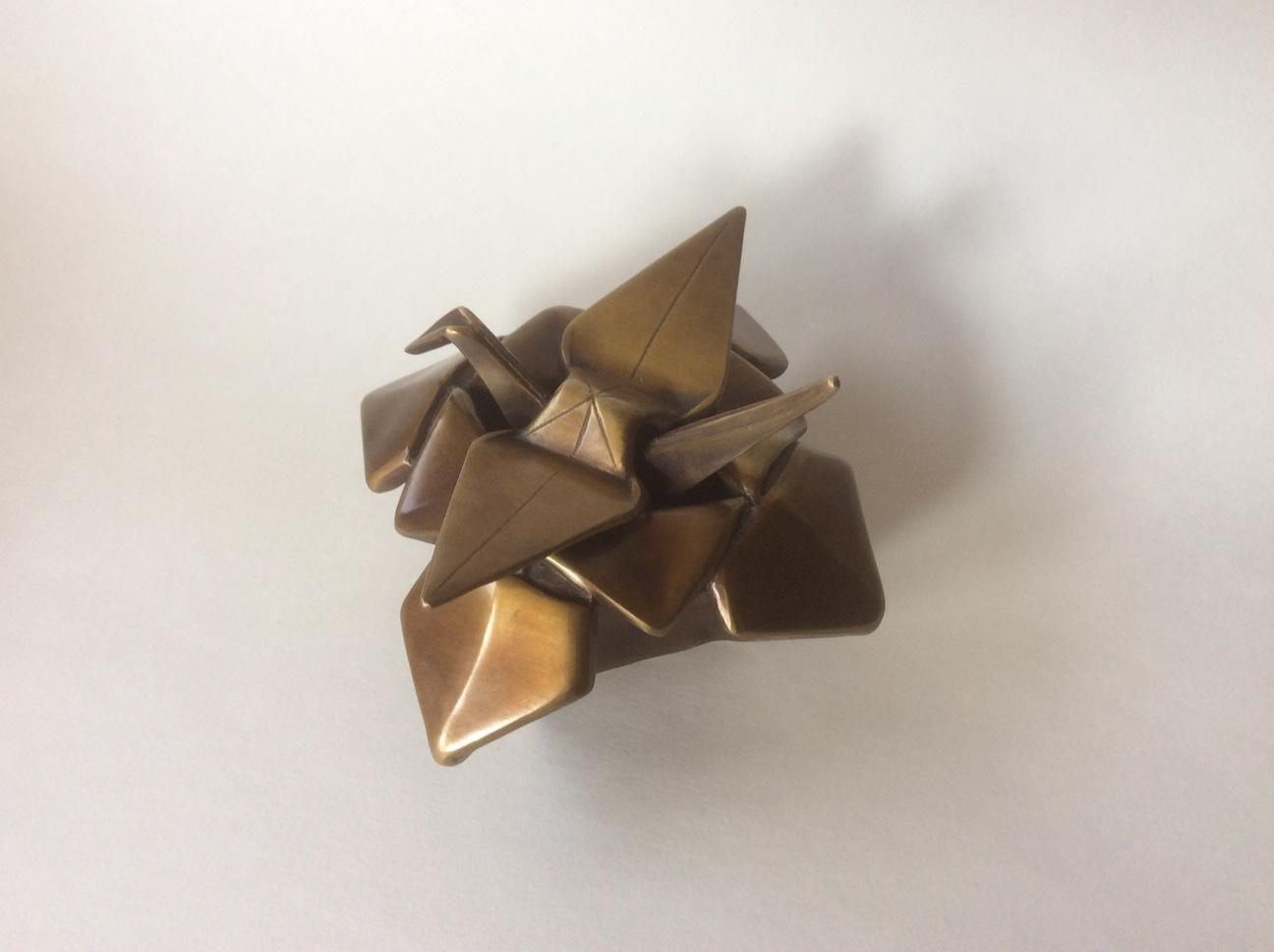 Origami Crane in Box