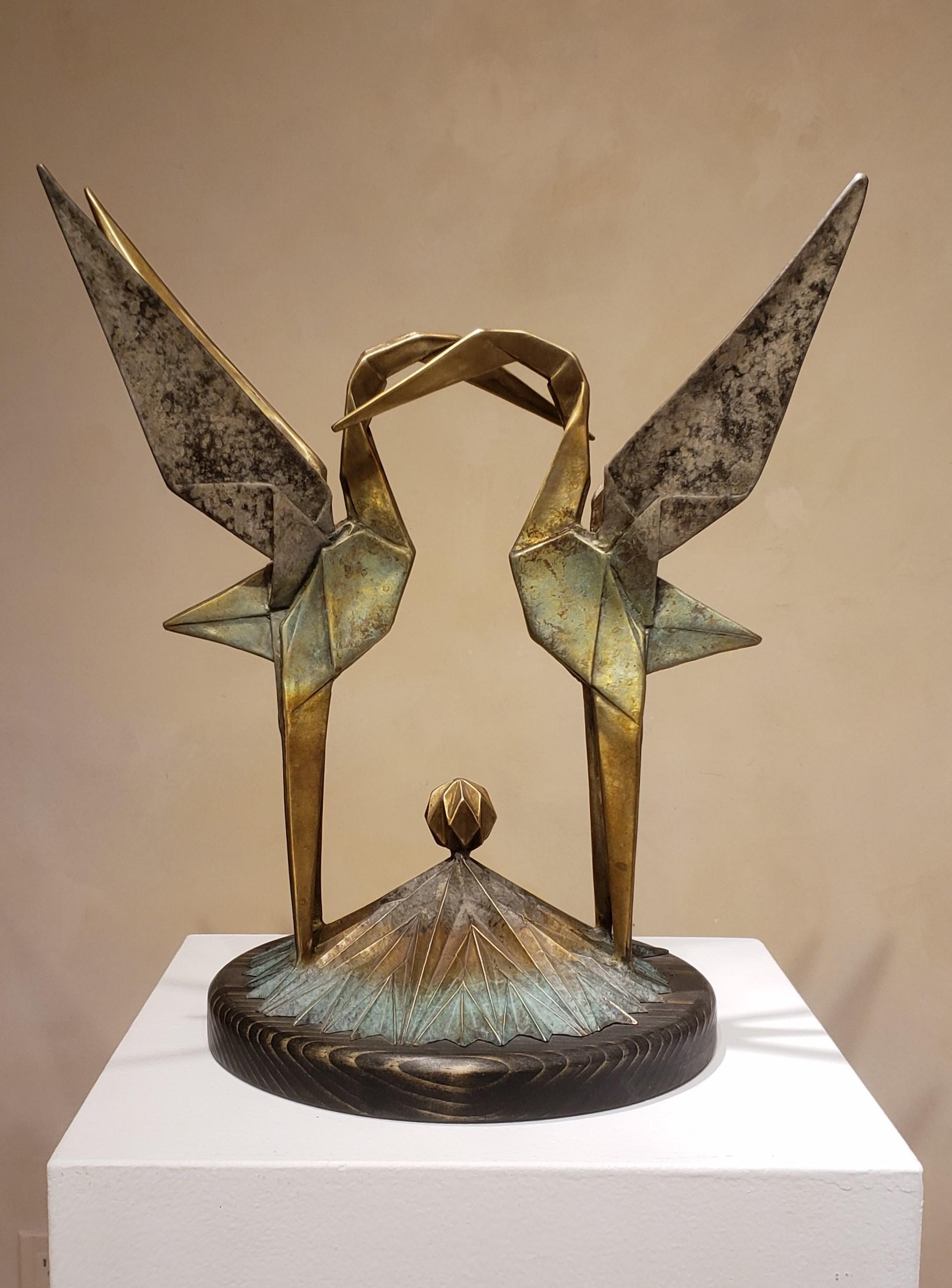 Standing Love Cranes