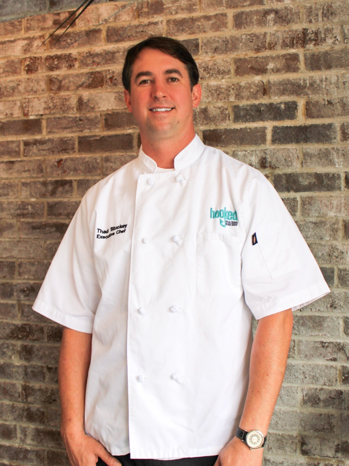 Thad Stuckey - Executive Chef Thad Stuckey is excited to bring his unique blend of culinary talents to Hooked in Downtown Charleston. From Spanish Tapas to Sushi, Chef Stuckey has spent 18 years cultivating his skills here in Charleston. His love of culinary culture stems from a youth growing up all over the world, traveling and living in Asia, Europe, and North America. He looks forward to welcoming diners interested in celebrating the bounty of Charleston in a contemporary setting with modern approaches.