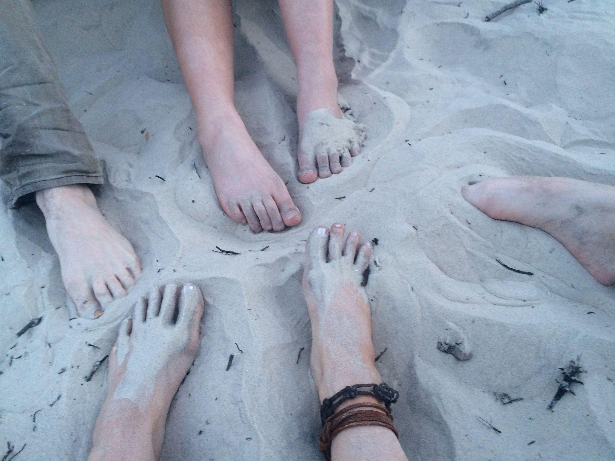 Tribal Feet - Jekyll Island Sand