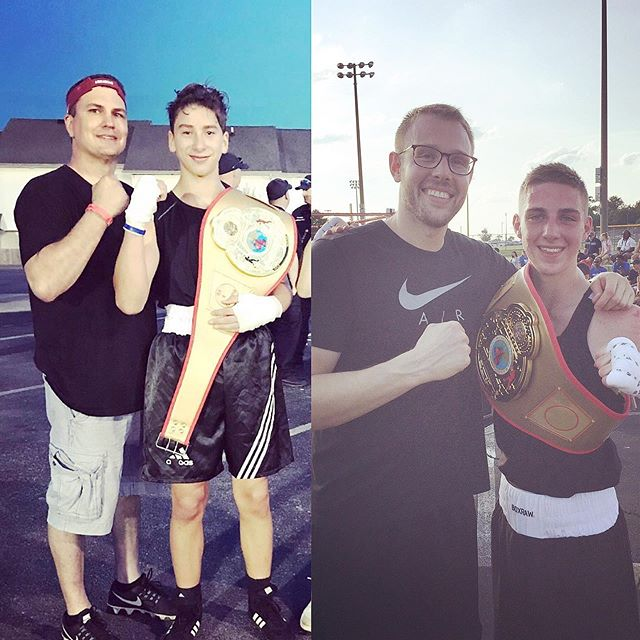 Congratulations to Coach @brett.kenney.79, Joe Fox, Coach @matt_medendorp & @xdub_fg2 on their wins yesterday in La Vergne at #brawlinthepark ! • #musiccityboxing #juniorolympics2019 #statechamps #amateurboxing #youthboxing #nashvilletn #thenations615 #musiccityfit