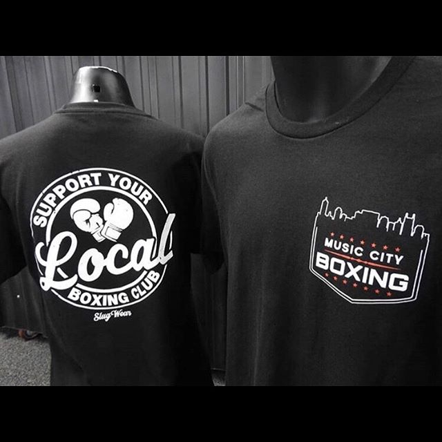 🚨NEW T-SHIRT ALERT🚨 Support Your Local Boxing Club by Proudly Wearing Our New MCB T-Shirt. $25 - Sizes Small to XXL . . . #musiccityboxing #musiccity #nashville #nashvilletn #boxing #fitness #usaboxing #sylbc #october #tshirt #worldchampion