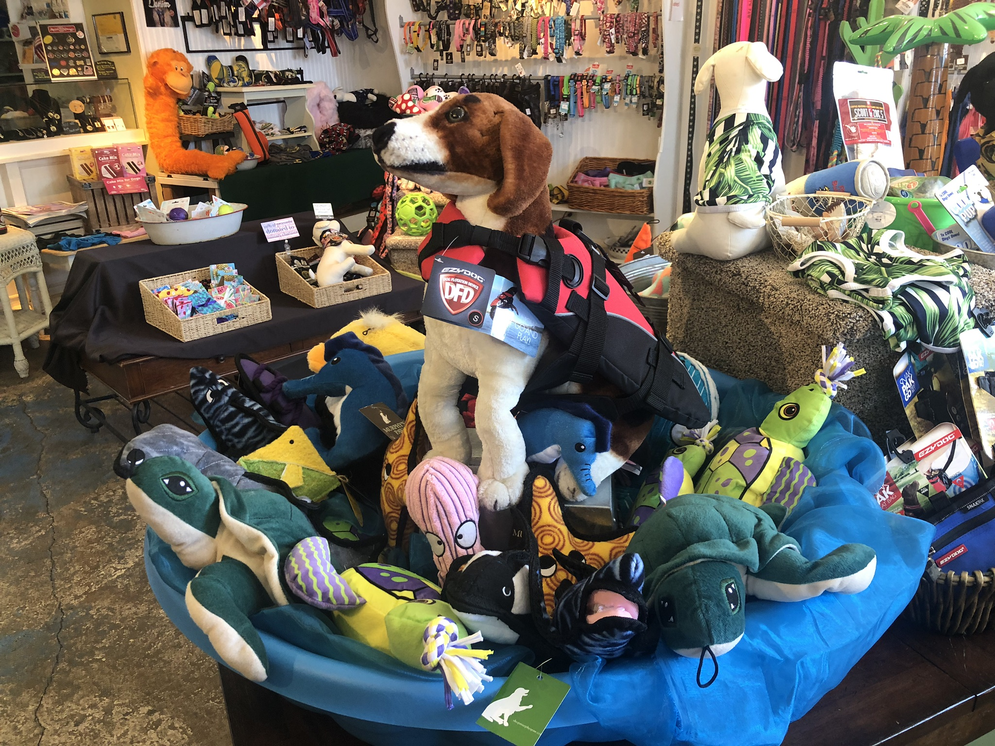 Lot's of Dog Toys