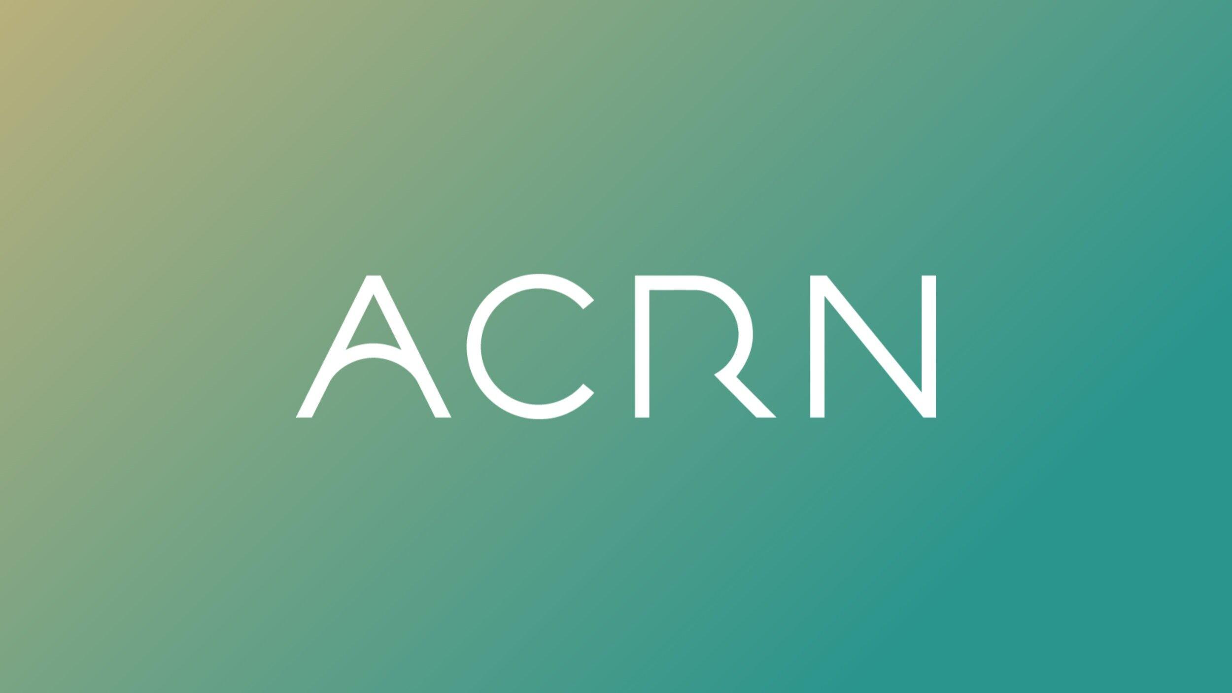 ACRN  | Naming - Identity - Deck Design