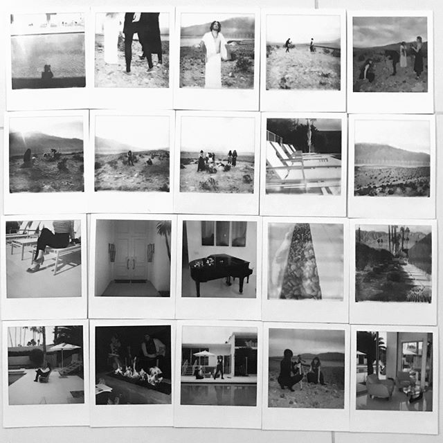 We made a photobook of the shots we snapped during our two INTENSE days together in Palm Springs for our annual retreat. It was a day of reflection and visioning, followed by an art day that culminated in a video project for the ages. We had a blast together and can't wait to see what transpires in 2019! Thanks @rpuro for the polaroids!⠀ ⠀ Check out all the photos (and in color) on our zine on the website!⠀ ⠀ #teamretreat #agencylife #houseofwho #brandagency #naming #teamwork #lovemyteam #videoshoot #polaroid #vintage #photography.