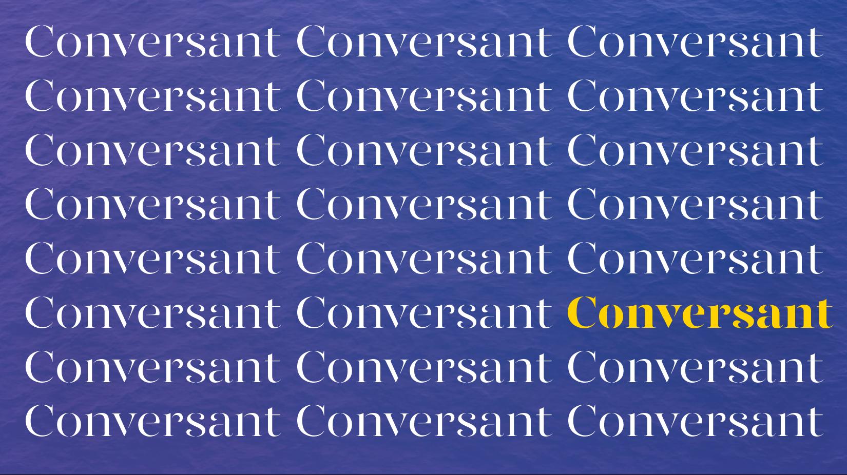 Conversant  | Naming