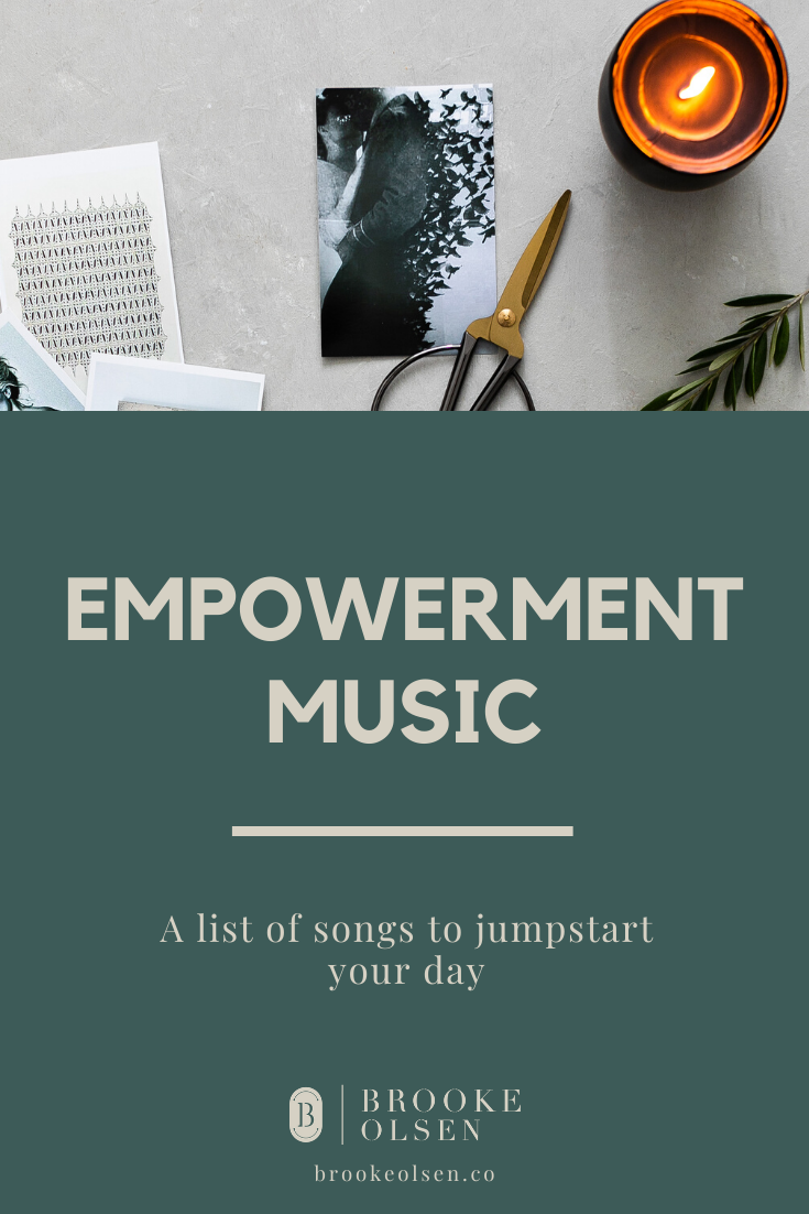 Empowerment Music: a list of songs to jumpstart your day. #businessowner #entrepreneurtips