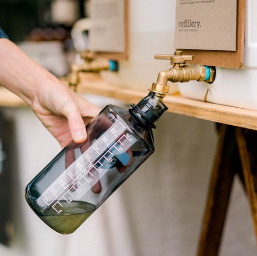 Don't live near bulk and refill options? No worries! Companies like  Refillery  are shipping waste-free to your door.  Image via    Refillery