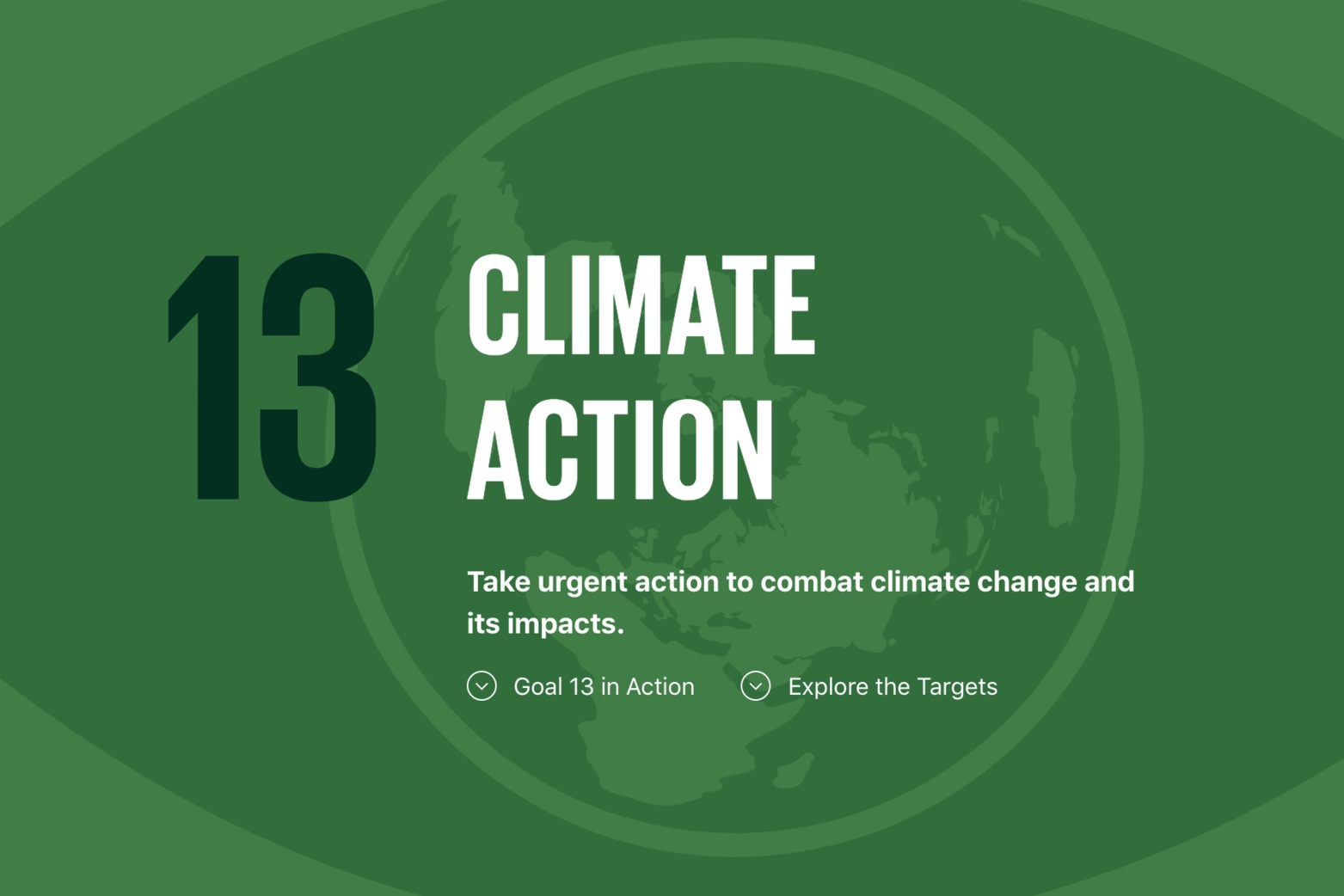 - SDG 13: Climate Action