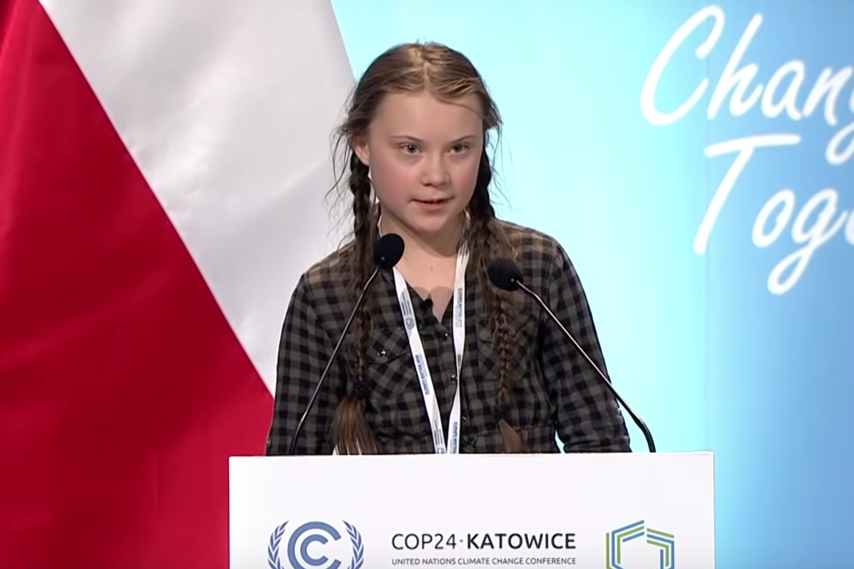 - Greta Thunberg Speech at UN Climate Change COP24 Conference