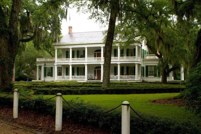 Rosedown Plantation is currently run by the National Parks Service. It is often cited as one of the most intact plantation complexes in the South, dating from 1835 and is widely believed to be haunted.