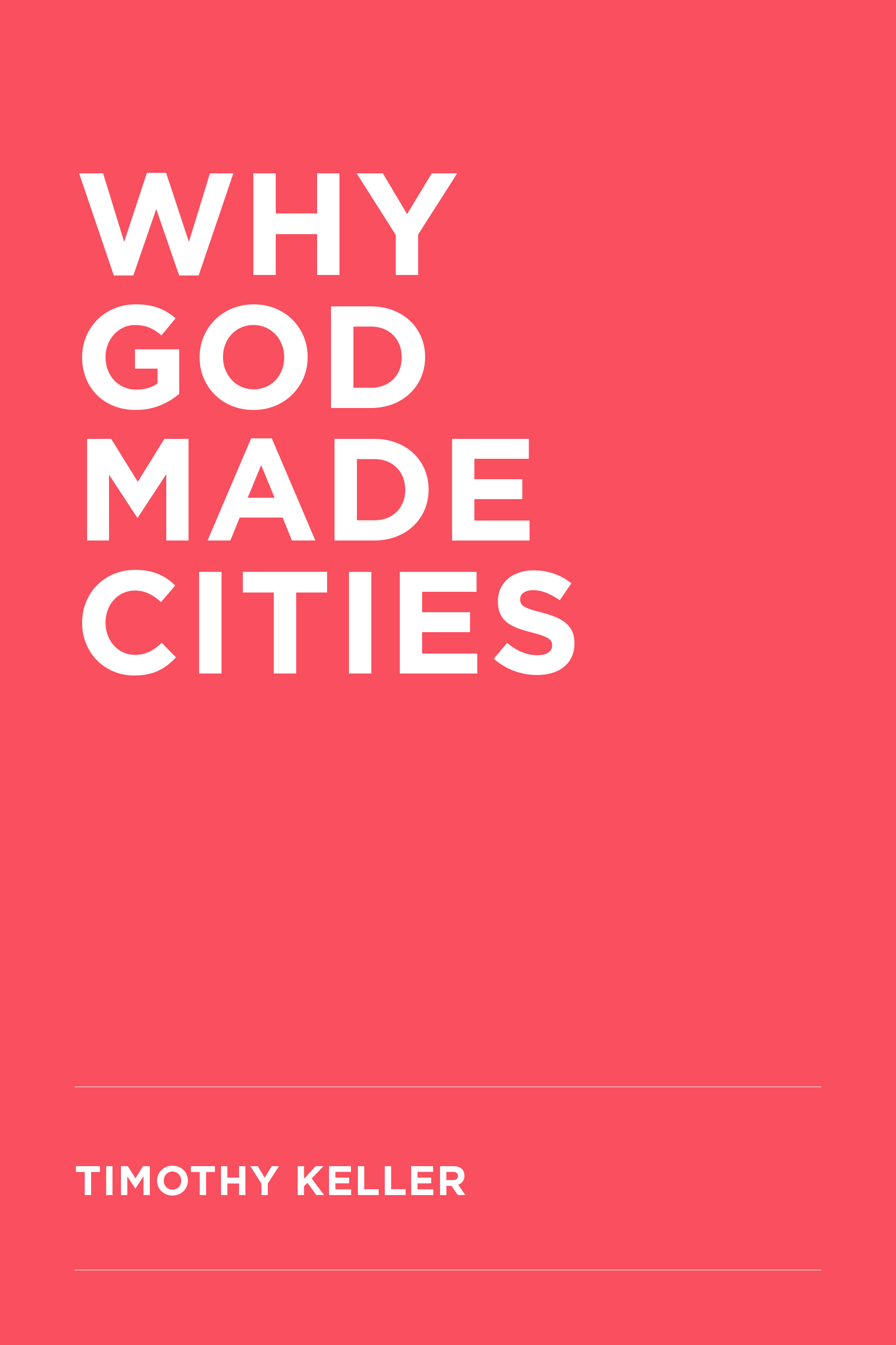 Why God Made Cities Cover.jpg