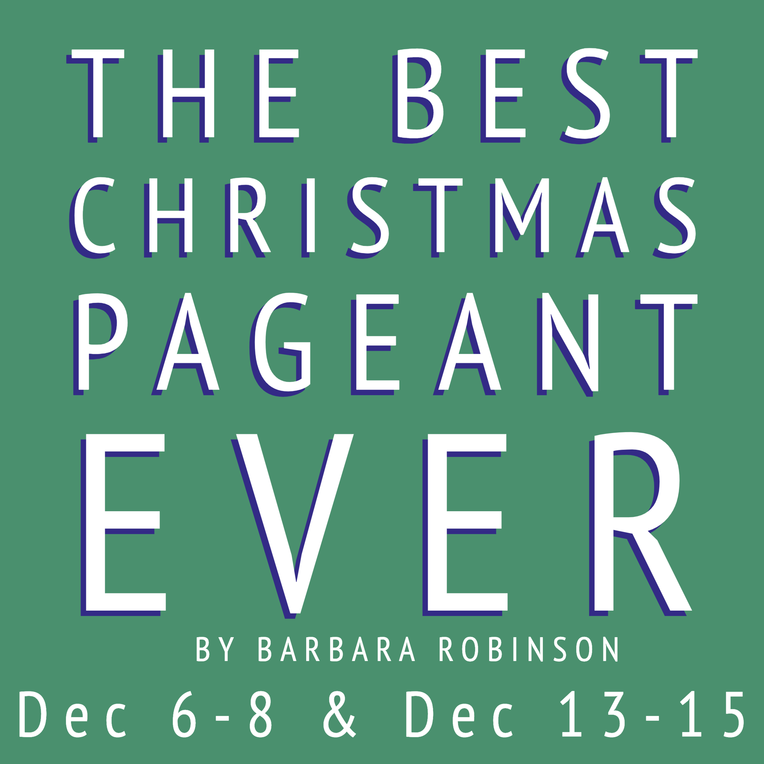 "DIRECTED BY GINGER HEATH - The Best Christmas Pageant Ever follows the outrageous shenanigans of the Herdman siblings, or ""the worst kids in the history of the world"" and the Bradley family who struggle to save the annual Christmas Pageant. The siblings take over the annual Christmas pageant in a hilarious yet heartwarming tale involving the Three Wise Men, a ham, scared shepherds, and six rowdy kids. Barbara Robinson wrote the book almost 50 years ago and it's still a heart-warming family holiday favorite."