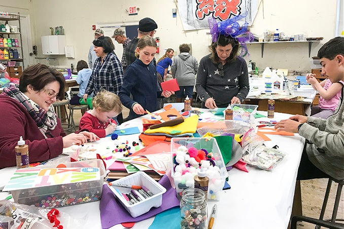 Parties for Young Artists - Our staff will work in consultation with the birthday child's family to provide a unique buffet of art projects based around a theme or media of your choice. A faculty artist and assistant will lead a 1.5-hour art activity.
