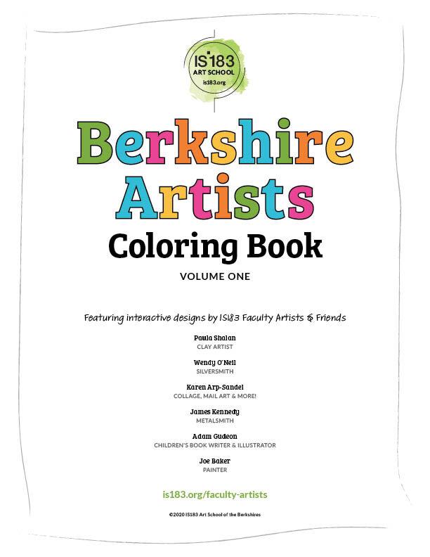 Berkshire Artists Coloring Book, Volume 1 (PDF) — IS183 Art School Of The  Berkshires