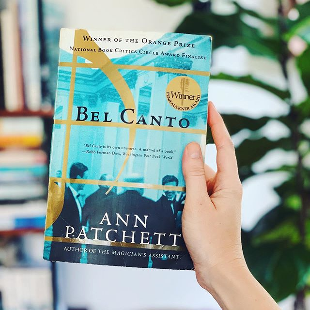 Everyone who told me I would love Bel Canto: I have a strong feeling you're right. I'm only 50 pages in and completely enchanted. What magic are you letting in to your long weekend?✨
