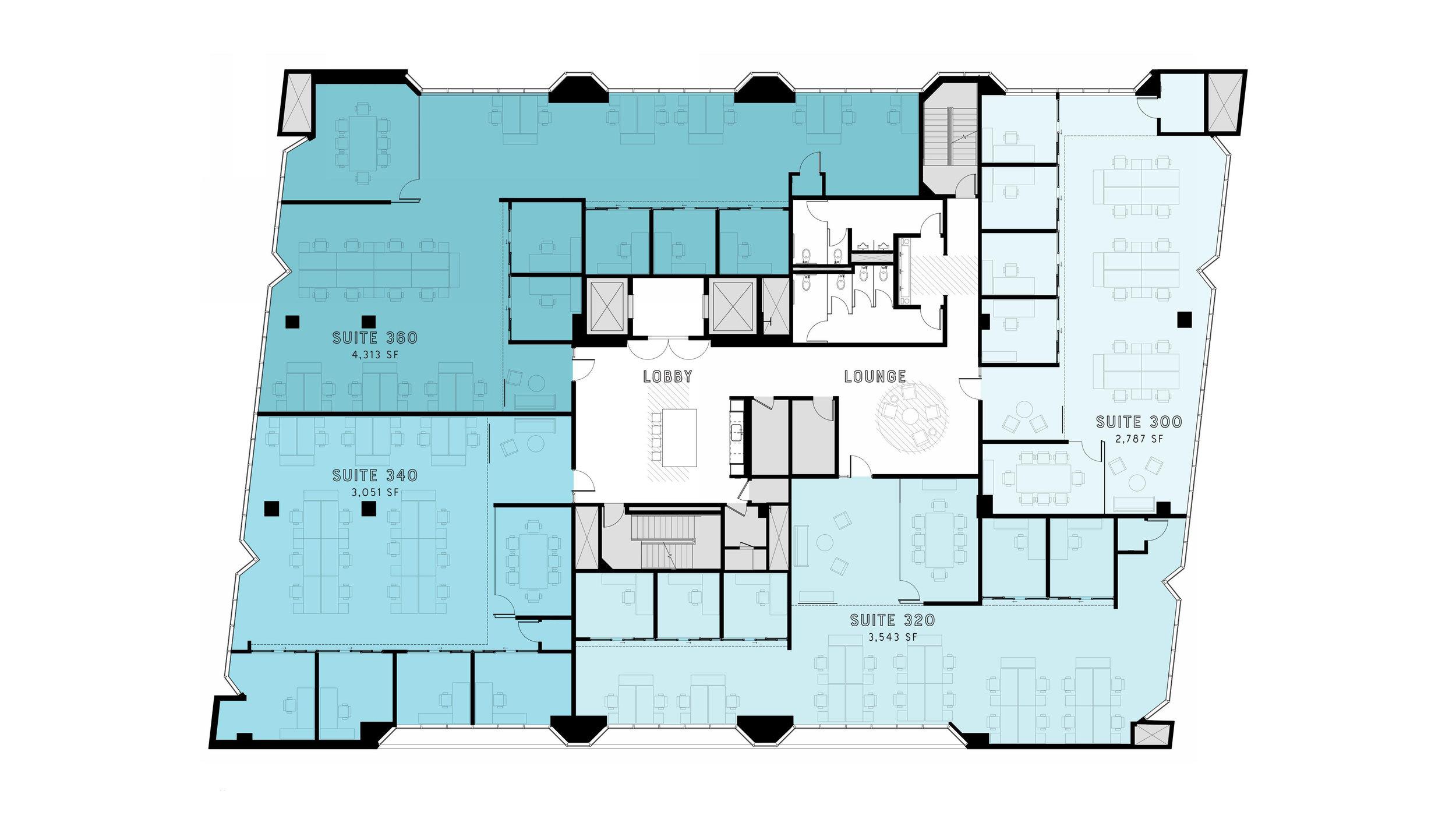 Typical Upper Floor