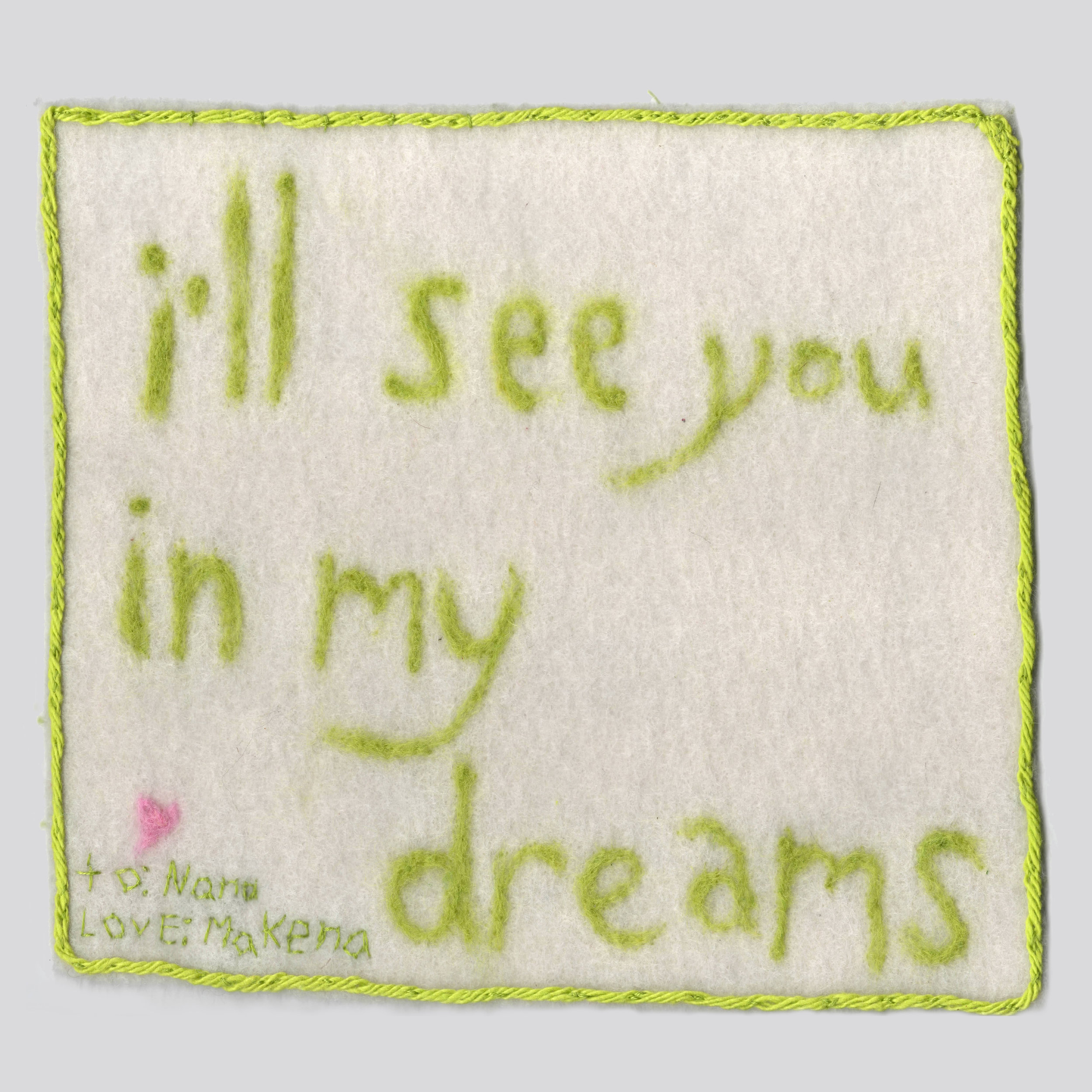 In My Dreams wool on cotton batting for my nana with dementia.jpg