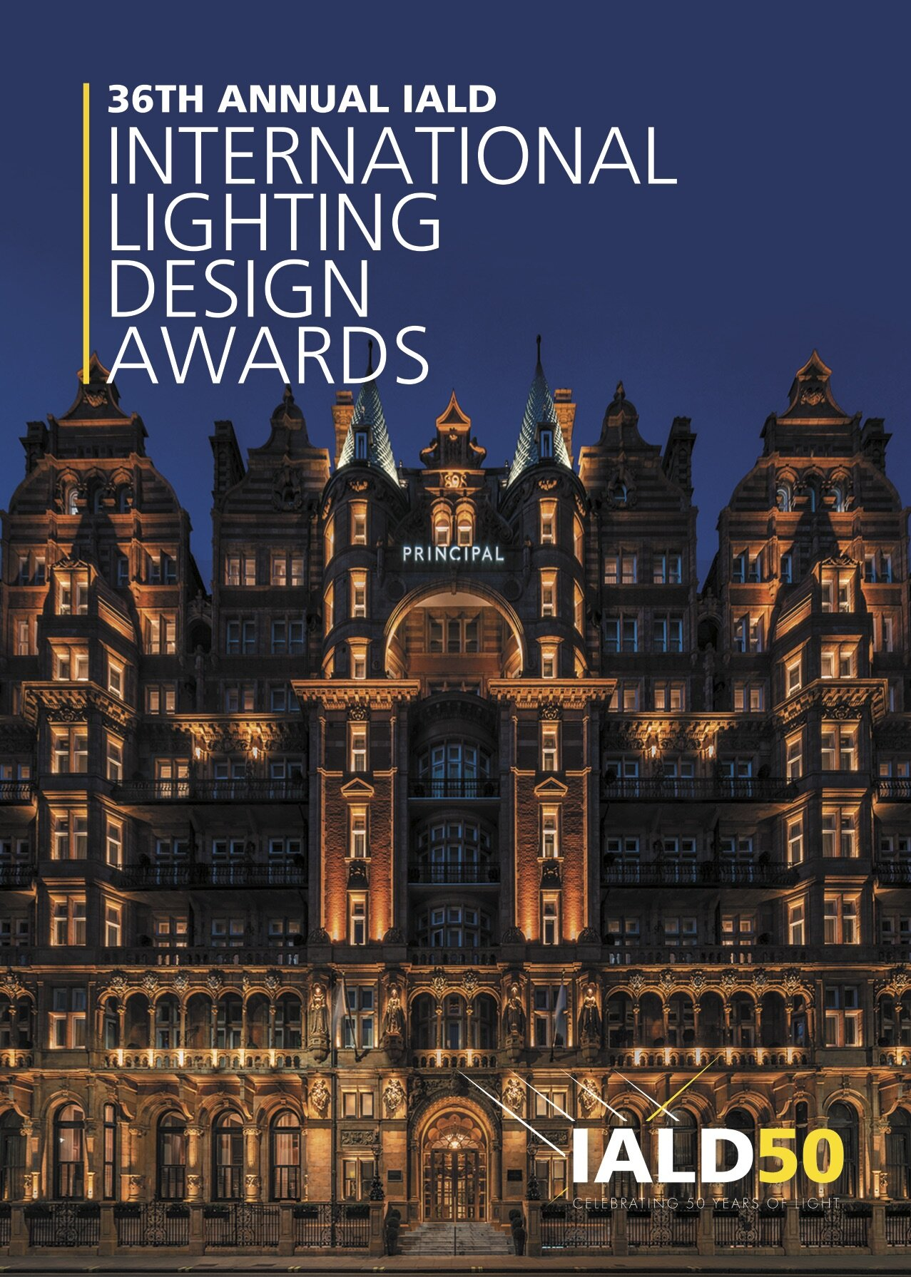 2019 Awards Book for the 36th Annual IALD International Lighting Deign Awards.   Click to view full book.