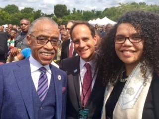 1000 Ministers March with Rev Sharpton, Rabbi Pesner // Credit: RAC