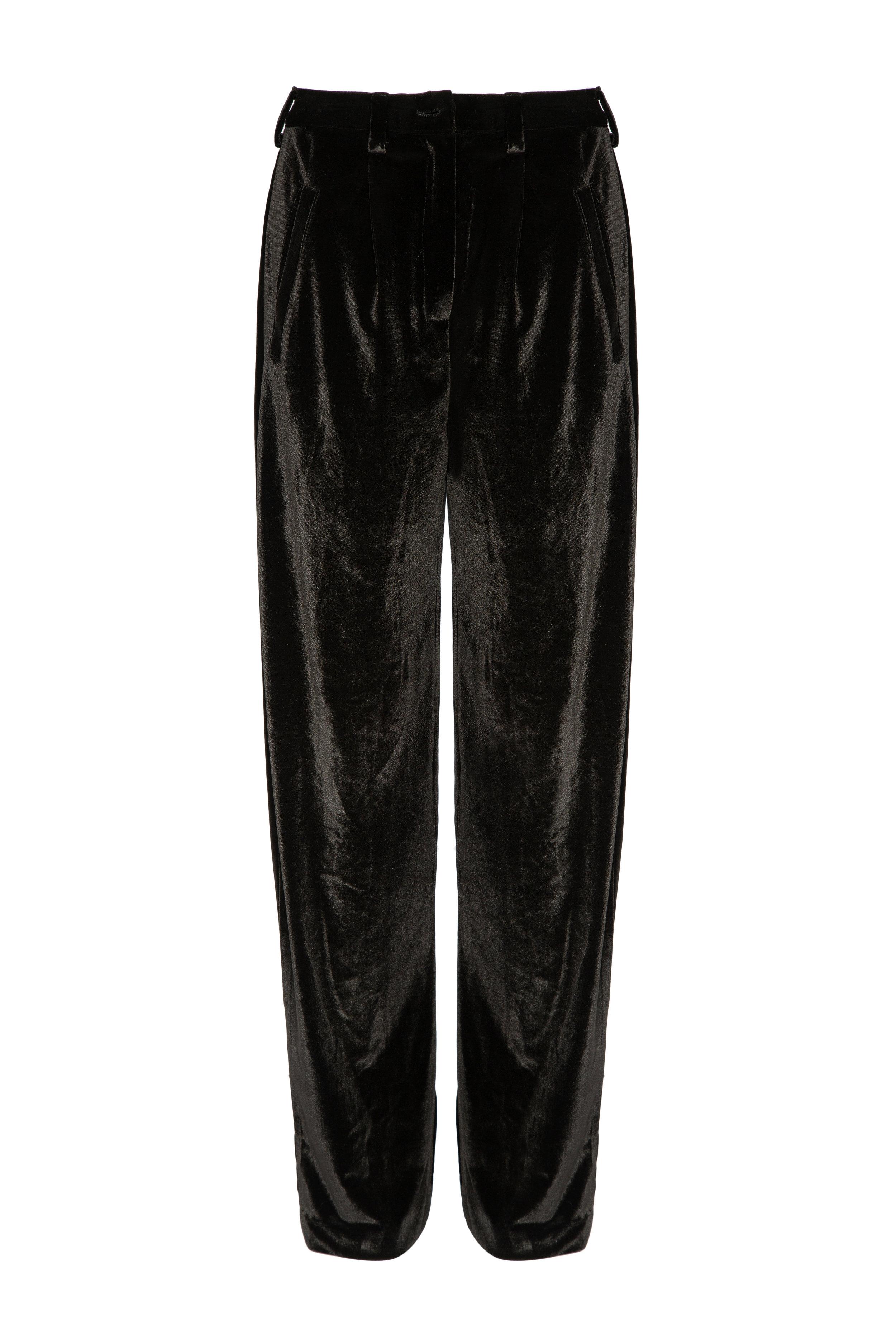 COMPLETE THE LOOK - Liya Velvet Pants 250 USD