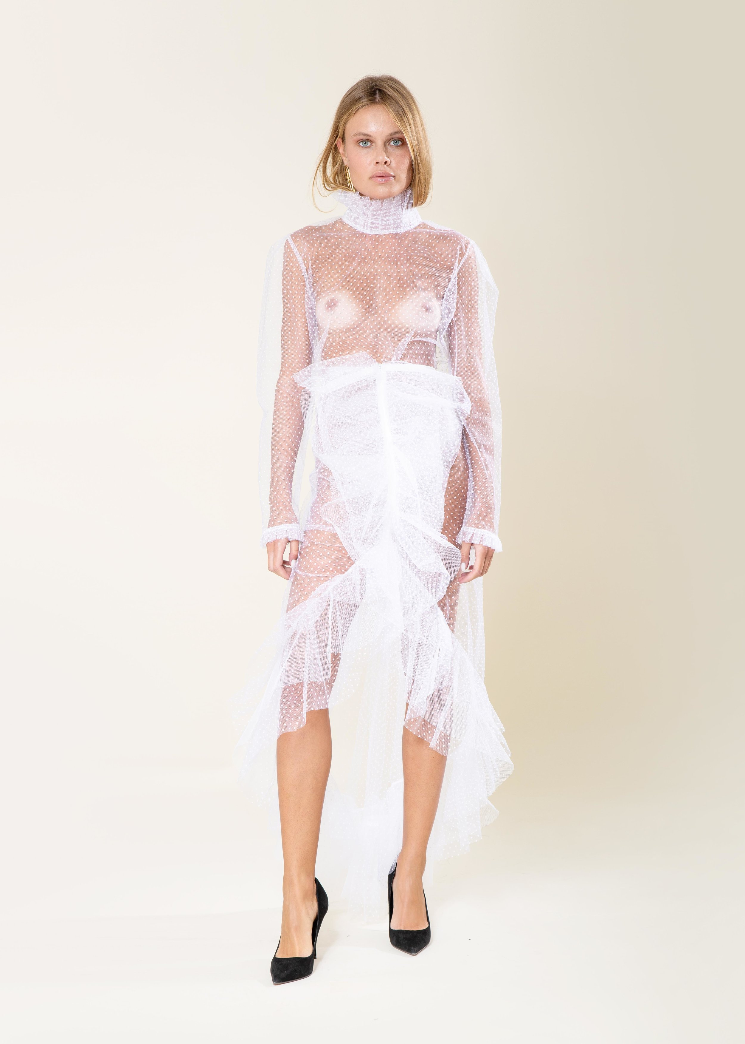 COMPLETE THE LOOK - Nora Tulle Top USD 268