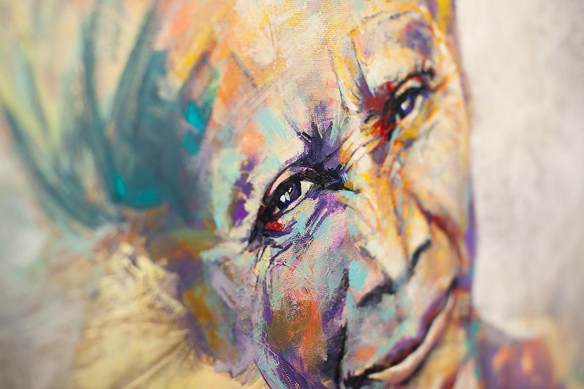 Guardia, Portrait Art of African Woman