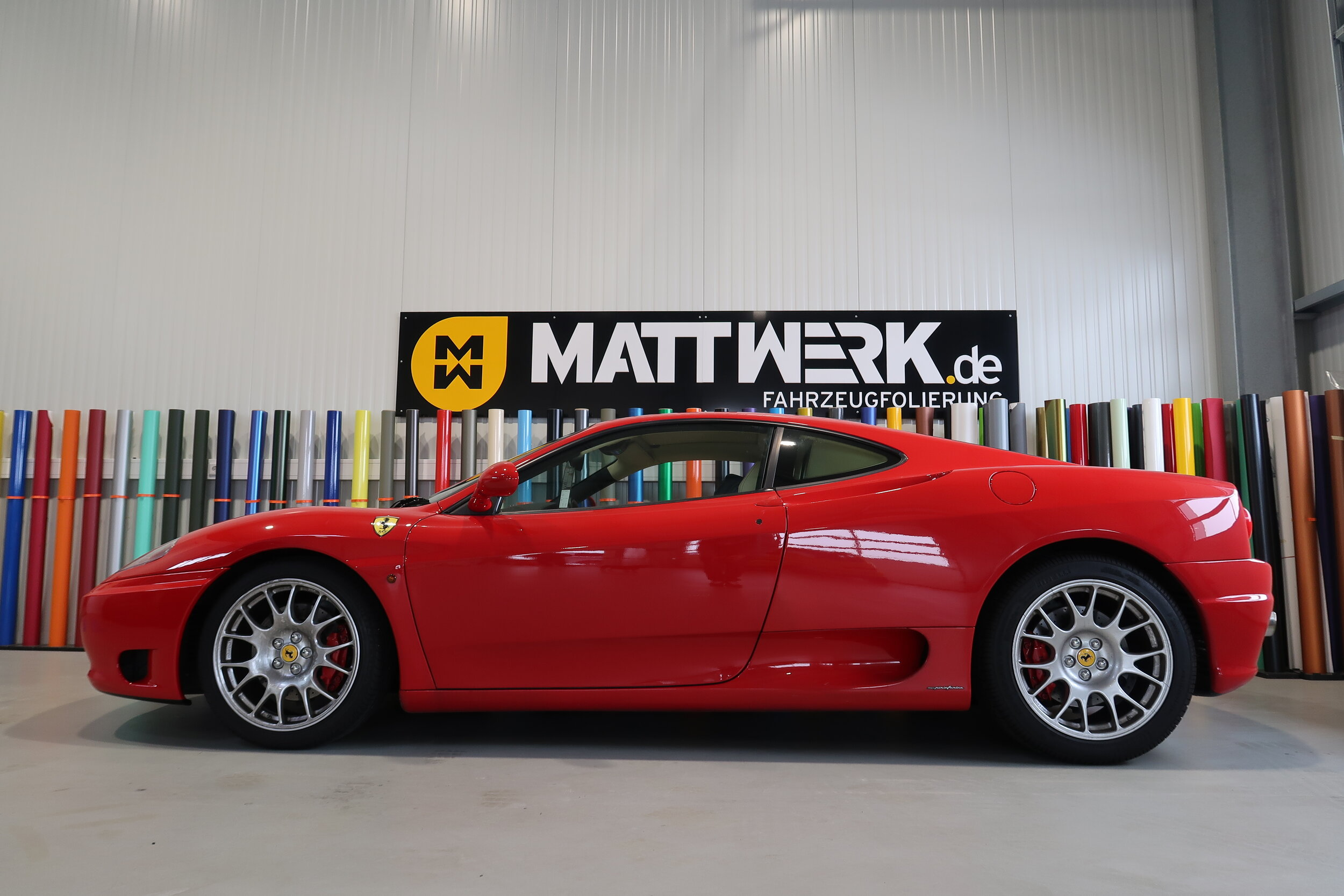 Ferrari Modena 360 - XPEL Lackschutz Frontpaket