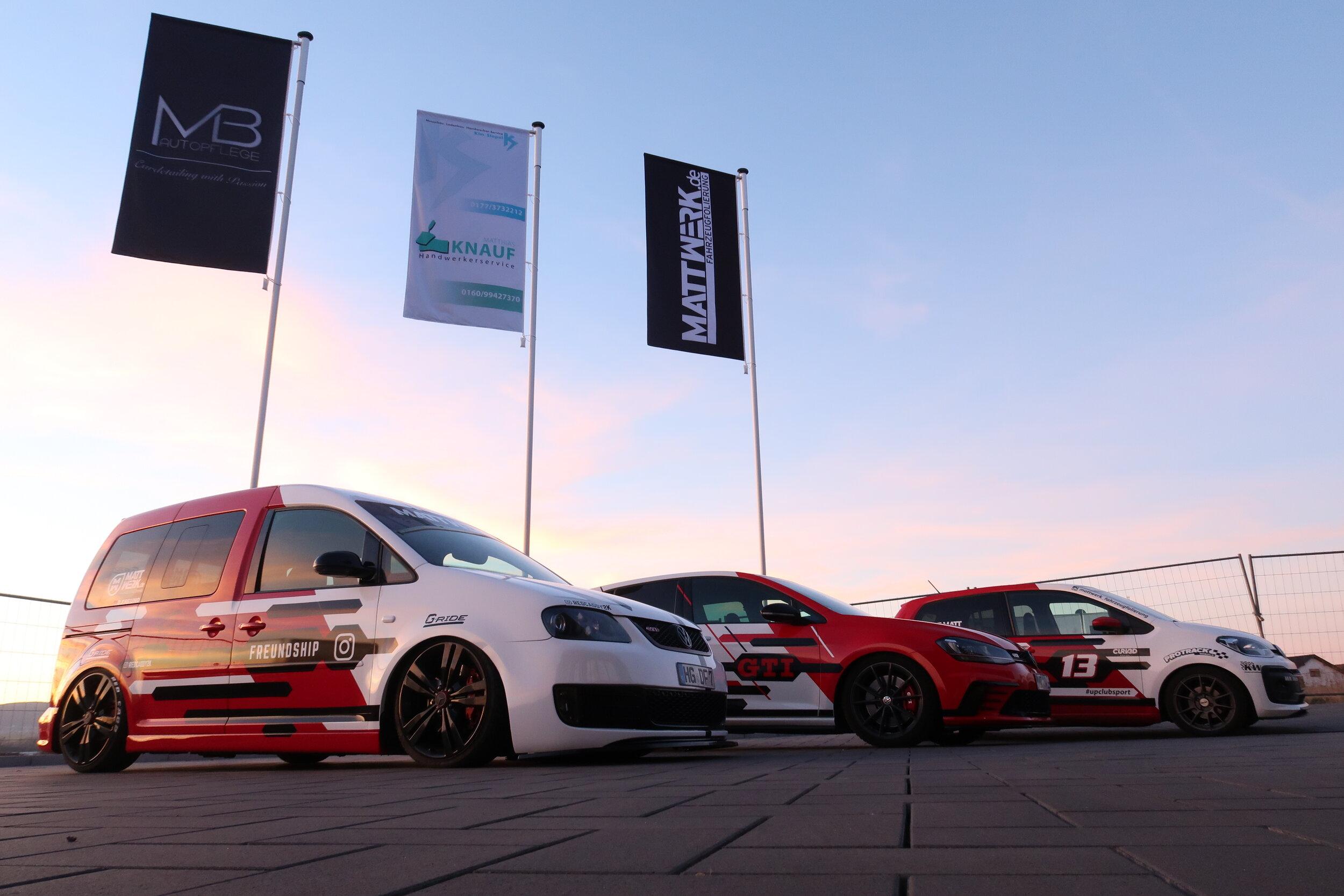 VW TCR Design - Auf VW Caddy, VW Golf und VW UP