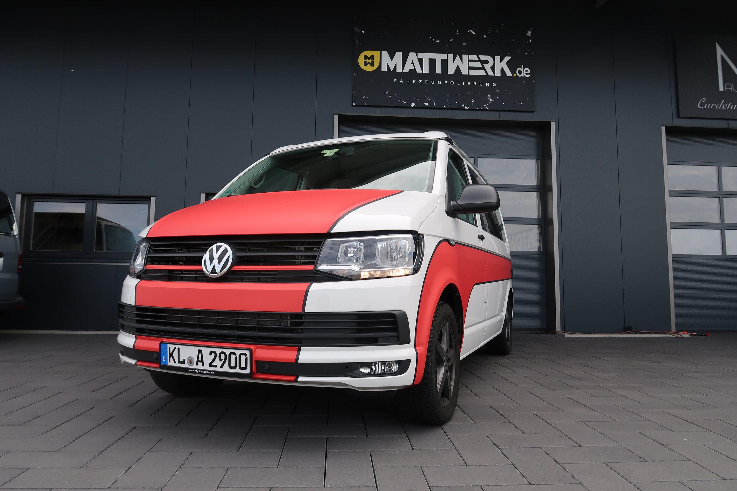 VW T6 California - Digitaldruck Designfolierung