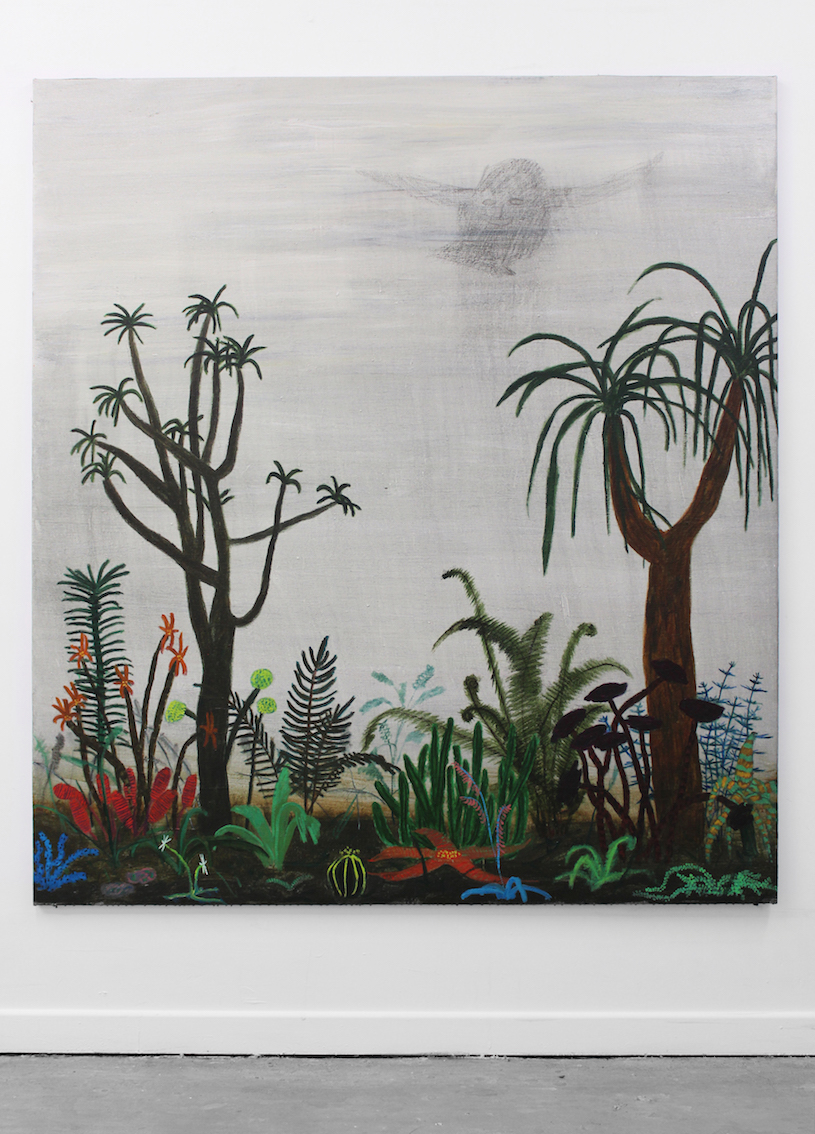 Tom Howse - Smoke in the Rain, 2019, acrylic on flax, 190 x 170cm (LR) copy.jpg