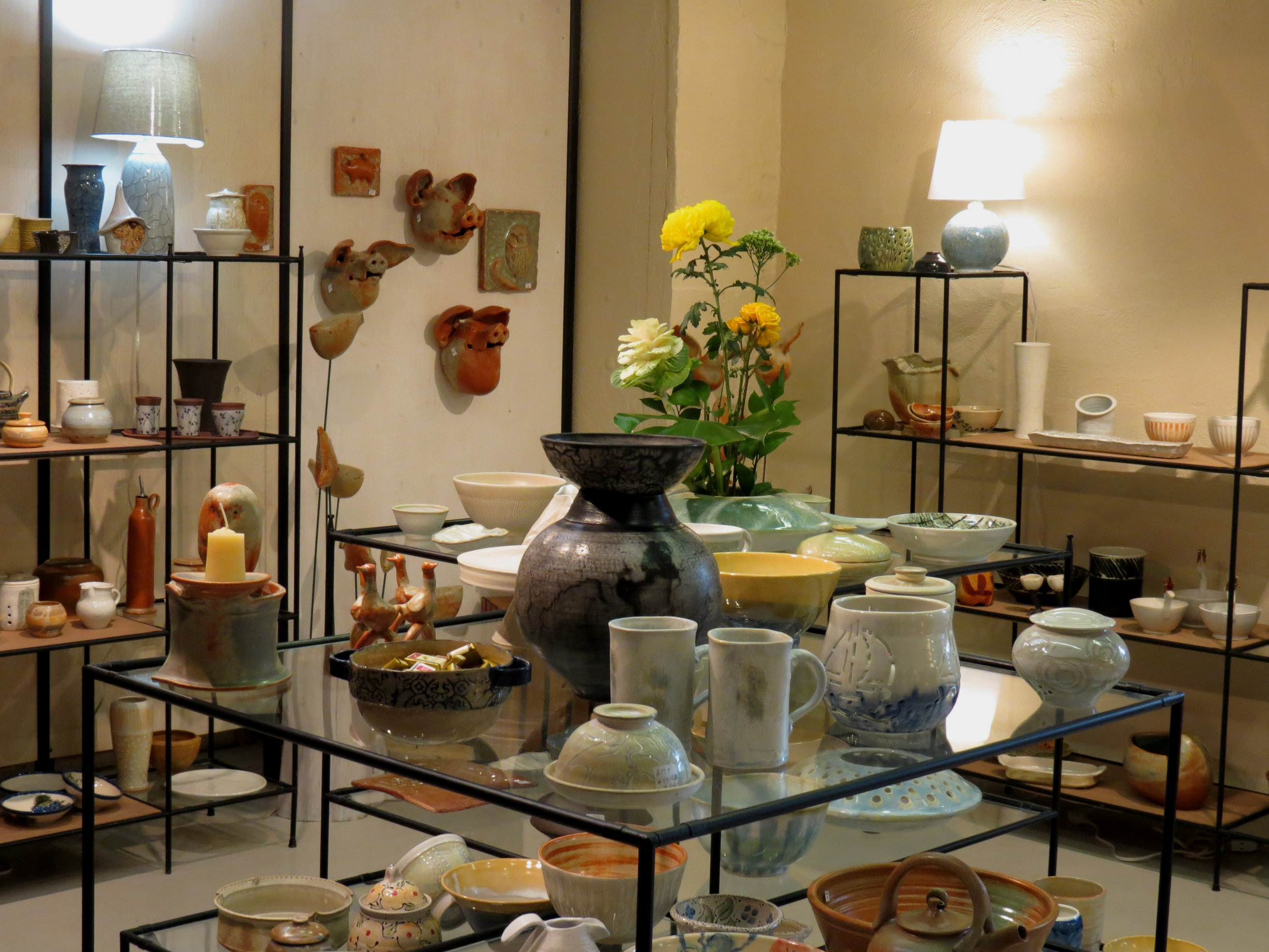 Studio de poterie Claycrafters - Stewart Hall, Pointe Claire