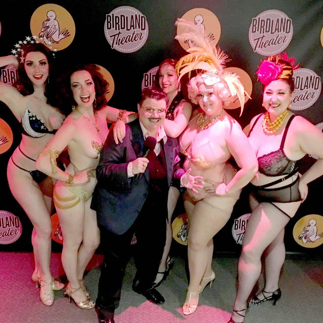 ROSIE CHEEKS, TANSY, MURRAY HILL, GAL FRIDAY, DIRTY MARTINI and MADAME BRASSIERE