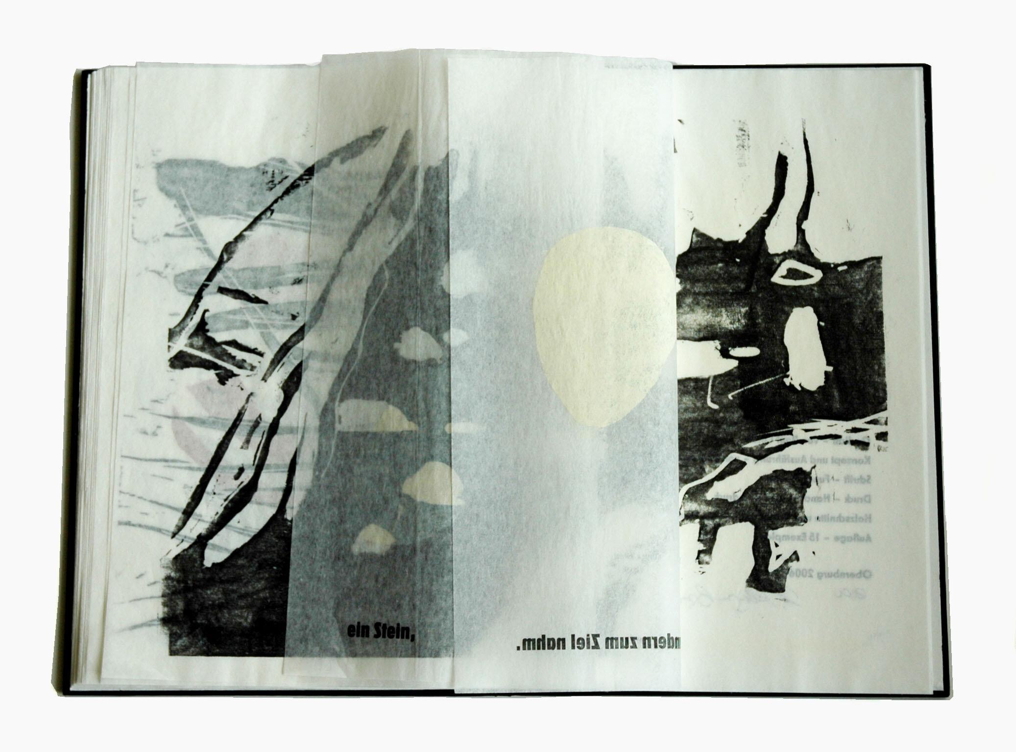 Künstlerbuch »Nacht«