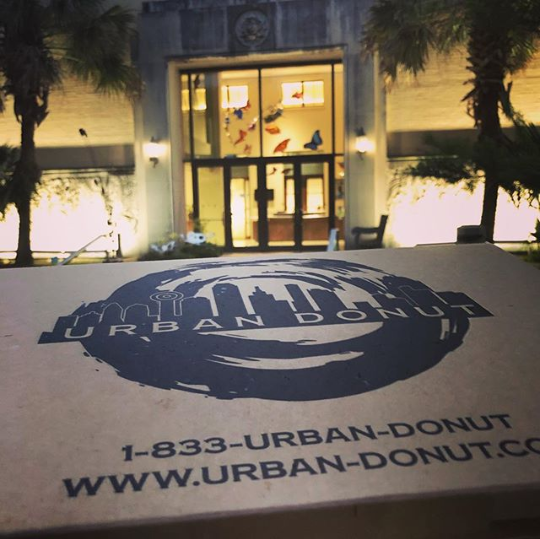 ORDER DELIVERY DIRECTLY FROM THE URBAN DONUT KITCHEN TO YOUR DOOR! - *MINIMUM $75 PURCHASE REQUIRED