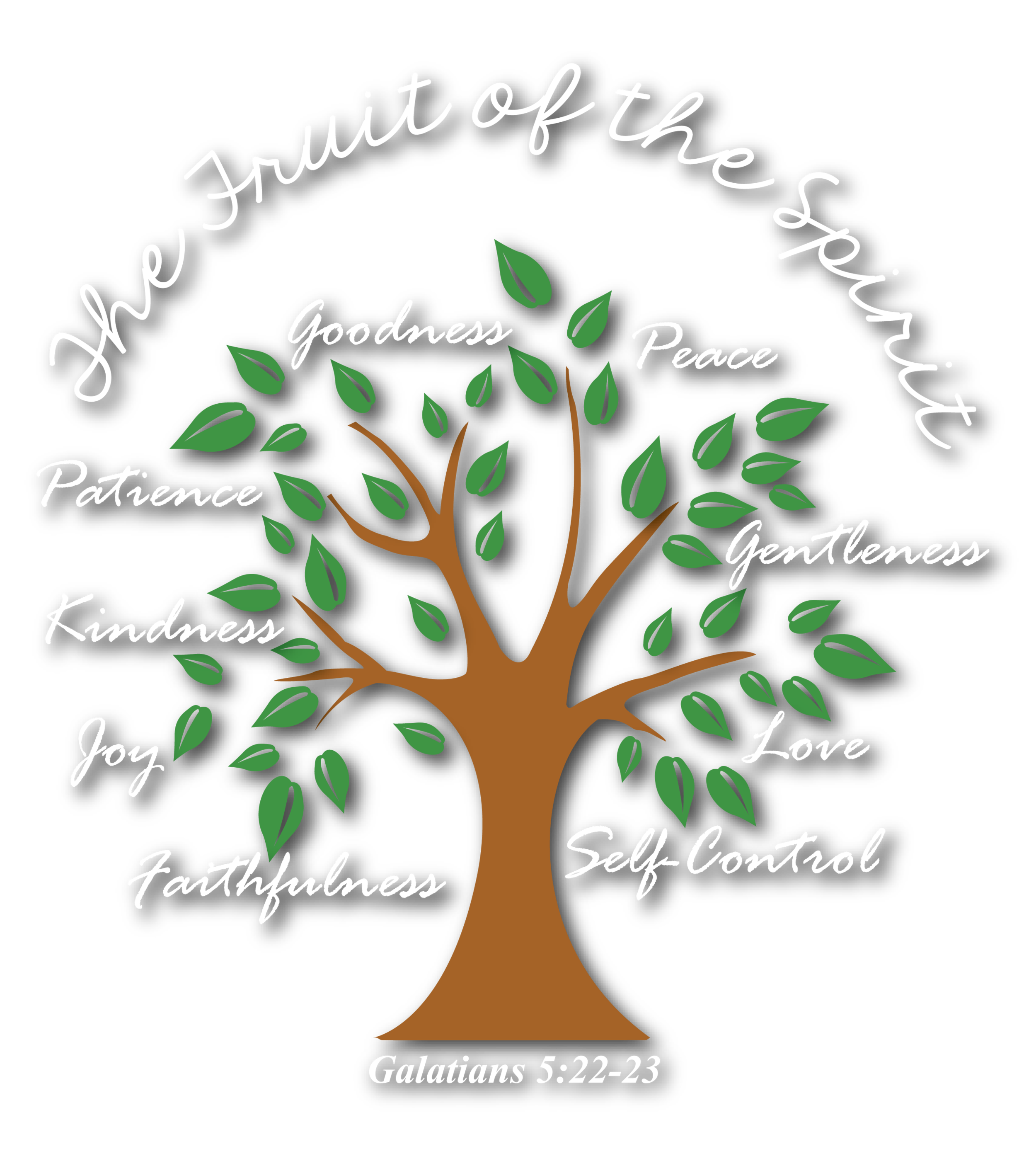 """Fruit of the Spirit"" - This character education framework was designed by EDS teachers. Using Galatians 5: 22-23 as a guide, teachers developed and gathered ideas for promoting a different Fruit of the Spirit each month (love, joy, peace, patience, kindness, goodness, gentleness, faithfulness, and self-control) in classrooms, in Tuesday and Thursday chapel services, and throughout the school. This program is woven throughout the EDS curriculum."