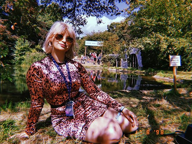 Green Man Rising interviews day 2 and its sunny 🌞🌞