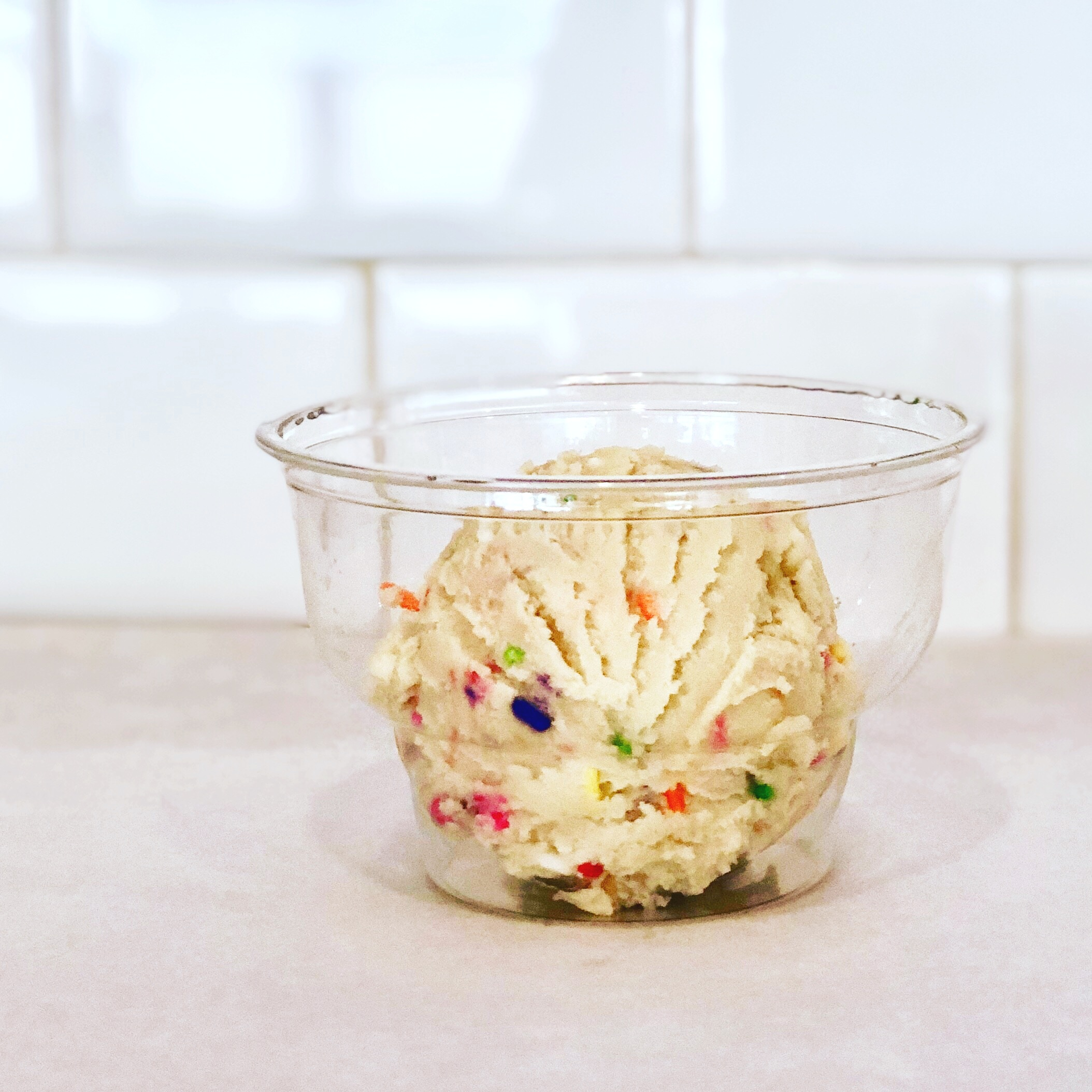 Single Scoop of our Edible Sugar Cookie Dough