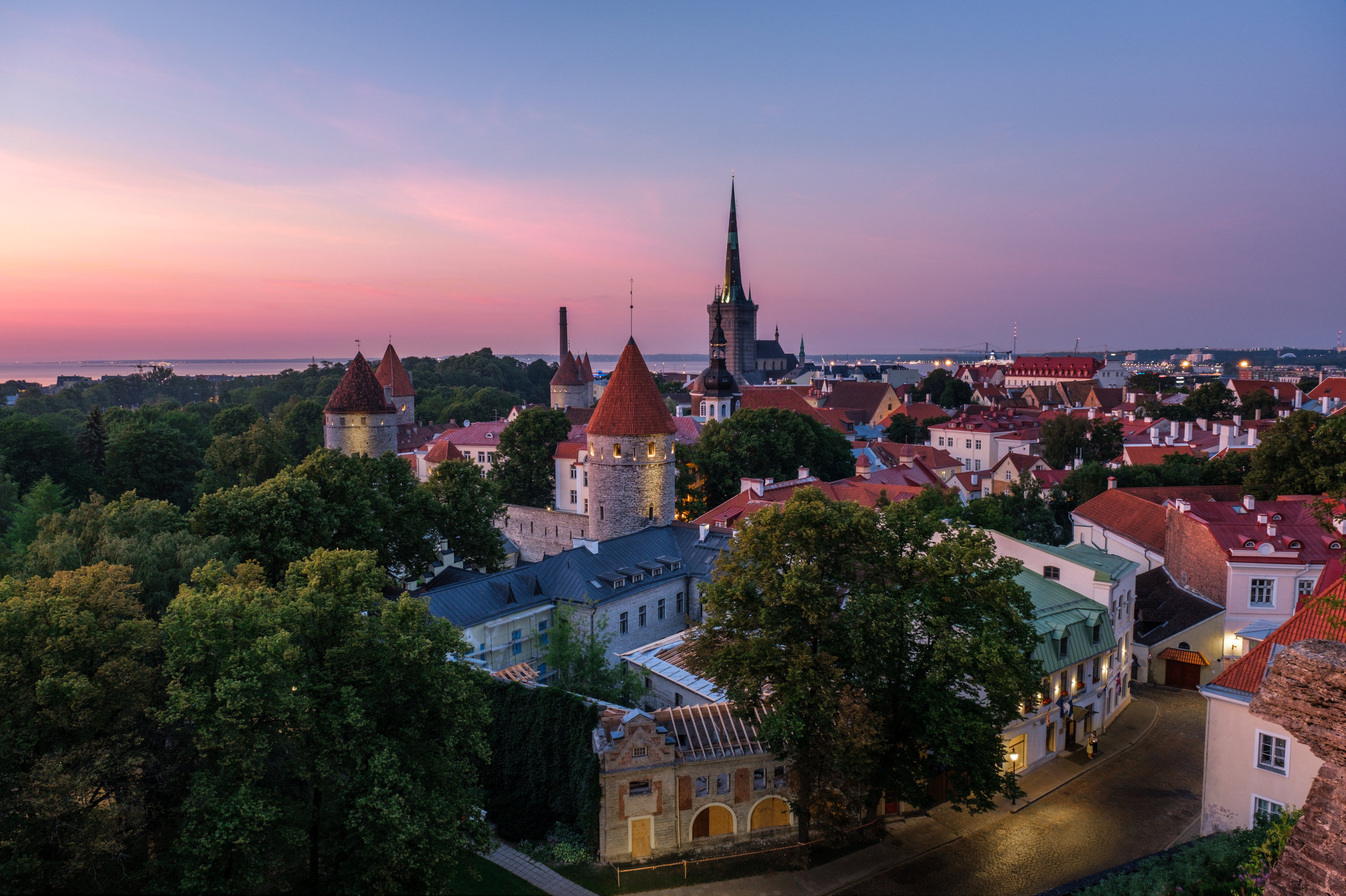 Old Town Tallinn, UNESCO World Heritage Site