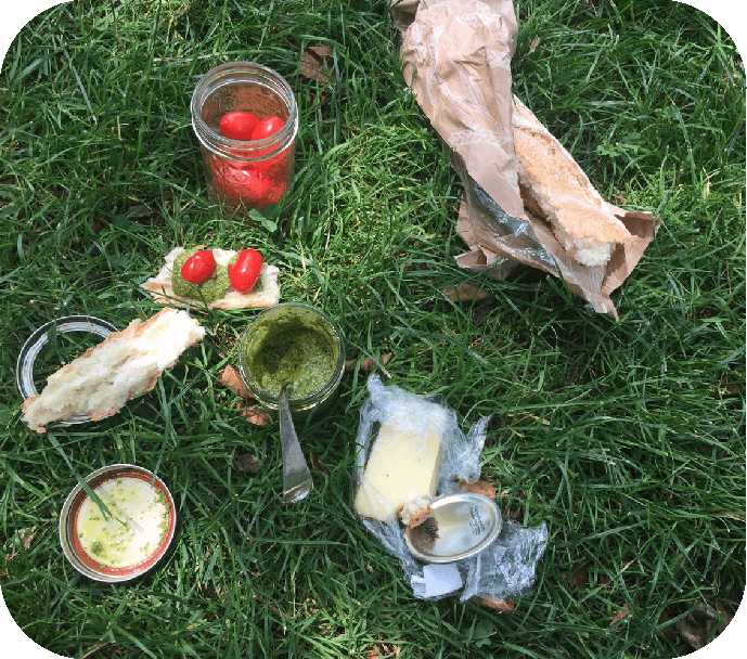THE PURIST'S PICNIC - ALEXANDRA C. + 250 PTSA regular contributor to our Cookbook Squad via Brooklyn, Codina has mastered the art of the picnic, always using her grandfather's spoon.