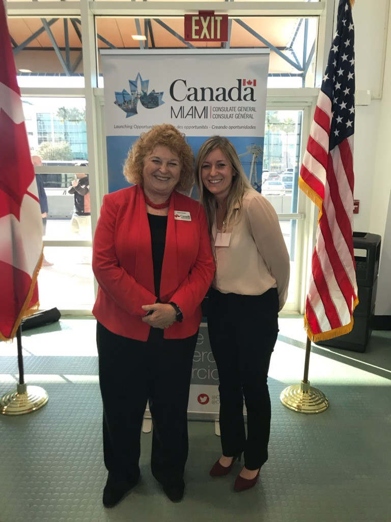 Canada Trade Commission's 2019 Smart CitiesFloridaRoad Show - Consulate General of Canada, Susan Harper & OpenGate's Jeanne Savoy