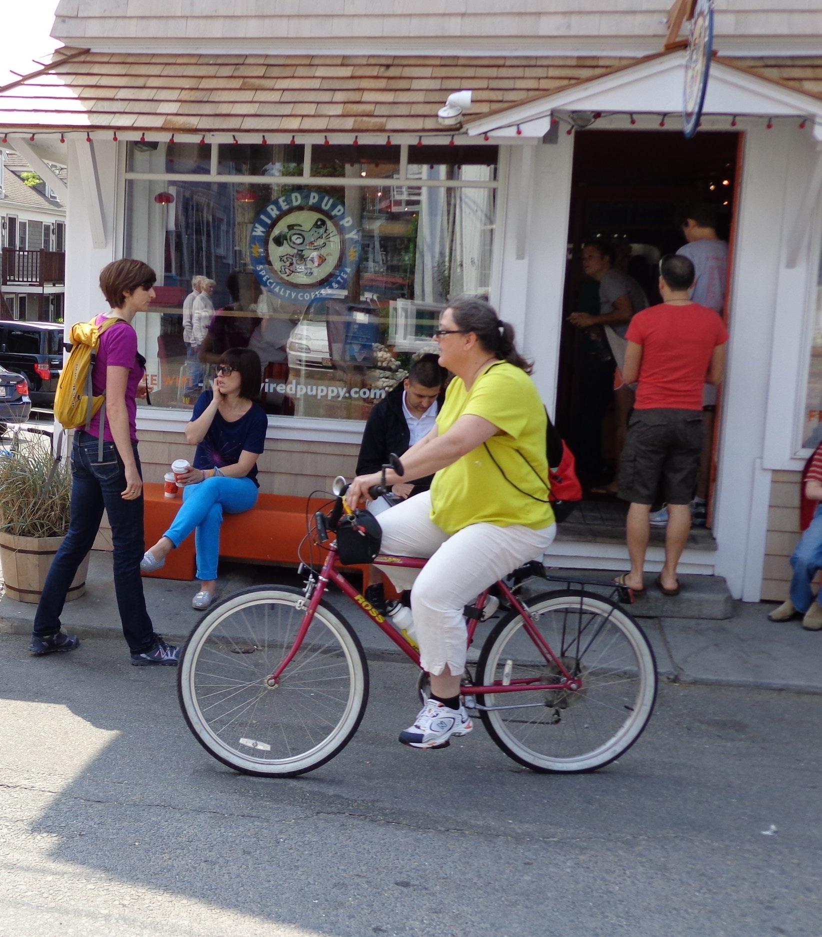 Running, Biking, Walking - Healthier means of transportion